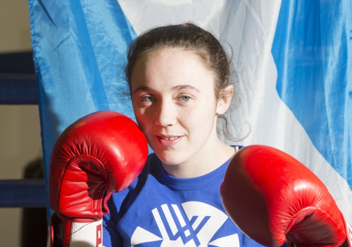 Historic European Boxing Medal for Vicky